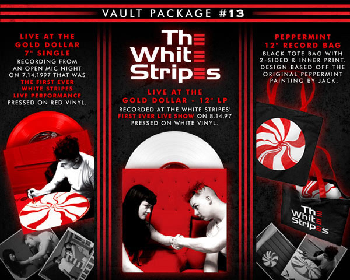 TMR / White Stripes Vault 26